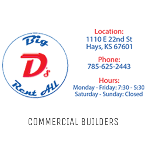 Big D's with Commercial Builders
